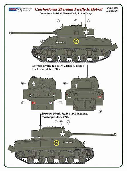 MODELIMEX Online Shop   1/48 Czechoslov  Sherman Firefly Ic