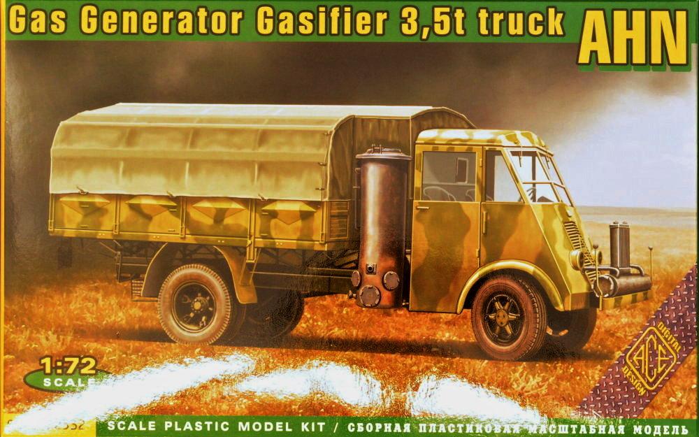 MODELIMEX Online Shop | 1/72 AHN French 3,5 truck gas