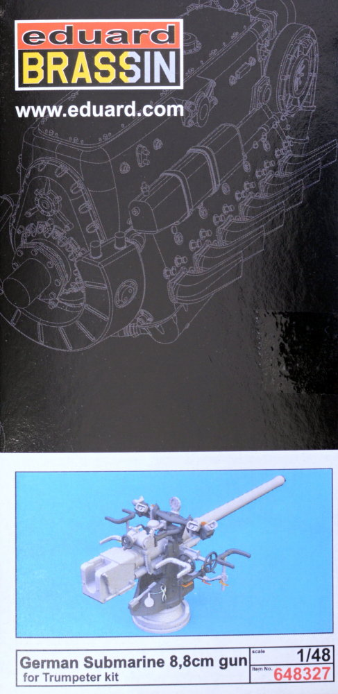 MODELIMEX Online Shop | BRASSIN 1/48 German Submarine 8,8cm