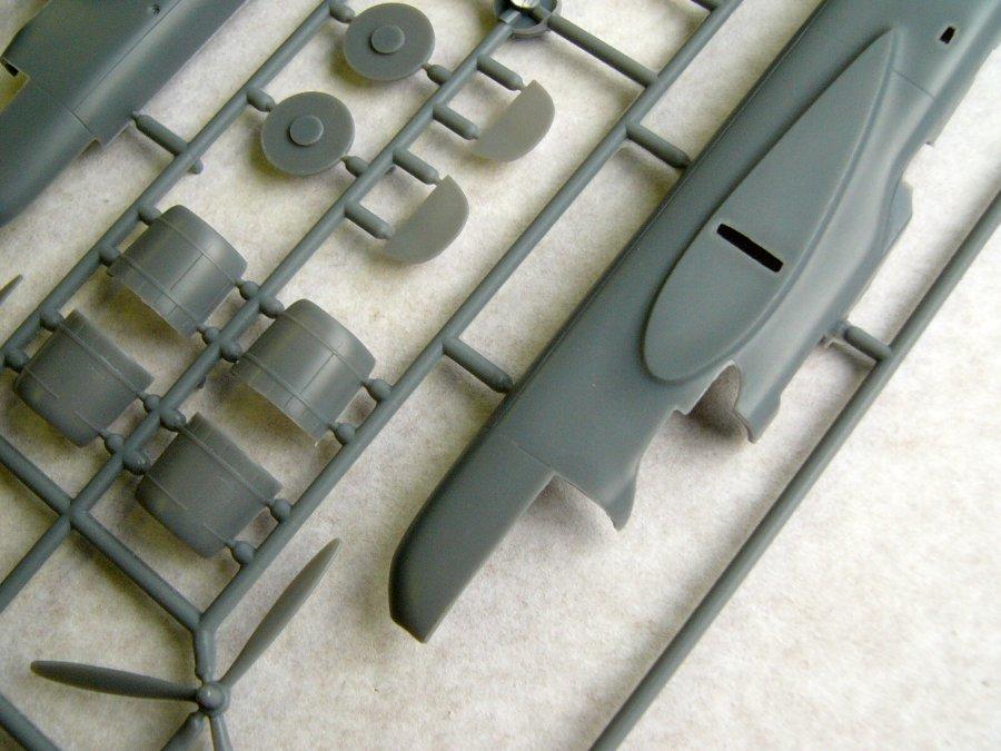 Neu Quickboost 72296-1:72 AC-47 minigun gun barrels for ESCI