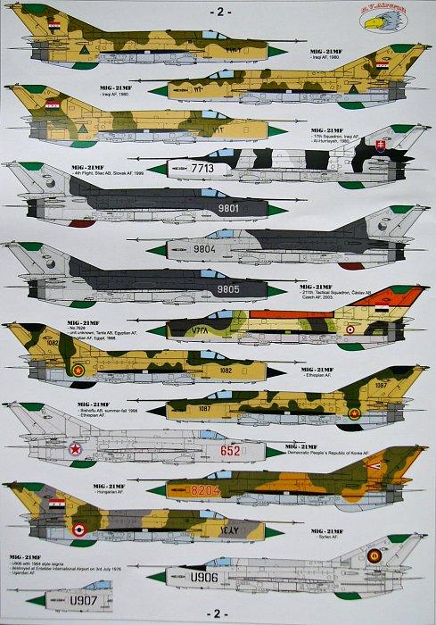 MODELIMEX Online Shop | 1/72 MiG-21 MF Hi-Tech (2x PE sets, big