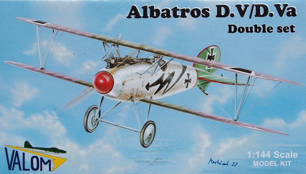 Albatros D.V TWO 1//144 model kits, Valom 14406 D.Va double set