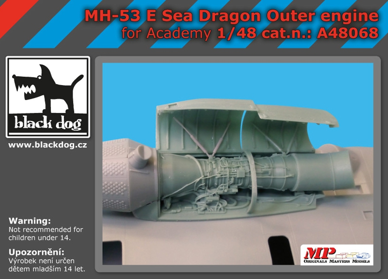 MODELIMEX Online Shop | 1/48 MH-53 E Dragon - outer engine