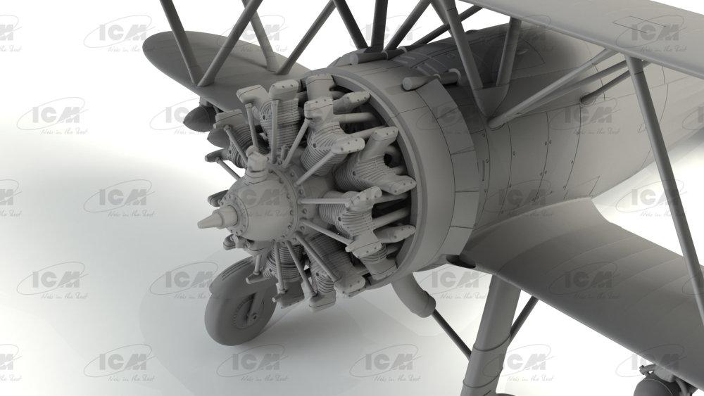 ICM: CR NEU WWII Italian Fighter in 1:32 42 Falco